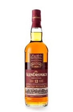 Picture of Glendronach 12 Year Single Malt Whisky 750ml