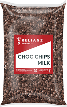 Picture of Relianz Milk Choc Chips Pack 1kg