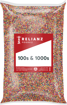Picture of Relianz Hundreds and Thousands Pack 1kg
