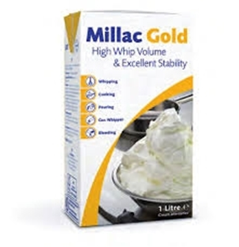 Picture of Millac Gold Topping Pack 12 x 1l