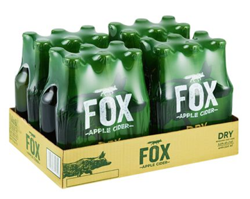 Picture of Fox Apple Cider 24 x 330ml Bottle