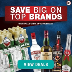 Picture for category SEPTEMBER/OCTOBER LIQUOR SPECIALS