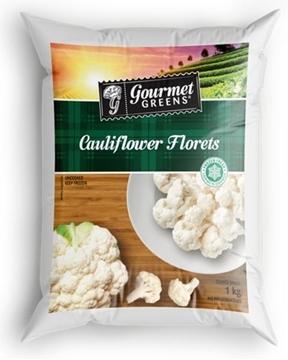 Picture of Gourmet Greens Frozen Cauliflower Veg Pack 1kg
