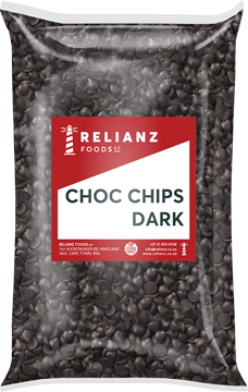 Picture of Relainz Dark Choc Chips Pack 1kg
