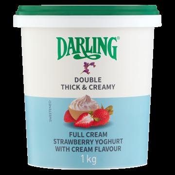 Picture of Darling Full Cream Strawberry Yoghurt 1kg