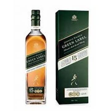 Picture of Johnnie Walker Green Label Whisky Bottle 750ml