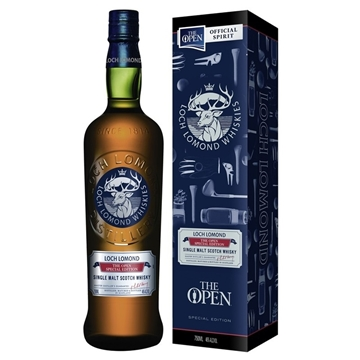 Picture of Loch Lomond Scotch The Open Whisky 750ml Bottle