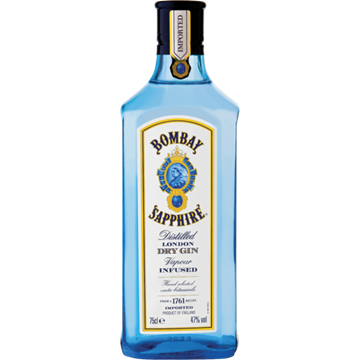Picture of Bombay Sapphire Gin Bottle 750ml