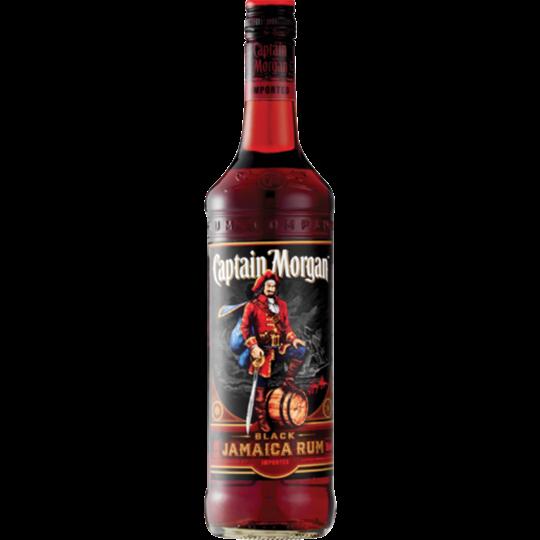 Picture of Captain Morgan Black Jamaica Rum Bottle 750ml
