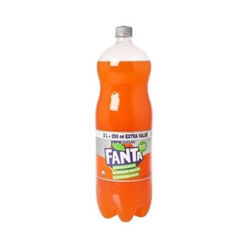 Picture of Fanta Orange Zero Bottle 2.25L