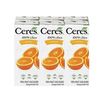 Picture of Ceres Orange Juice Pack 6 x 200ml