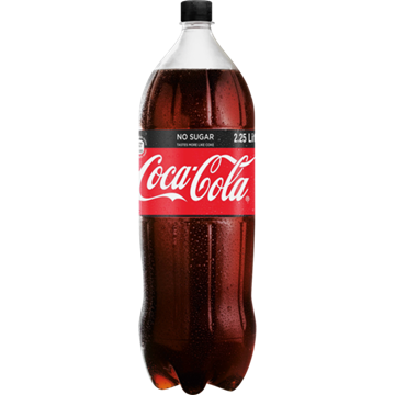 Picture of Coca Cola Zero Soft Drink Bottle 2.25L