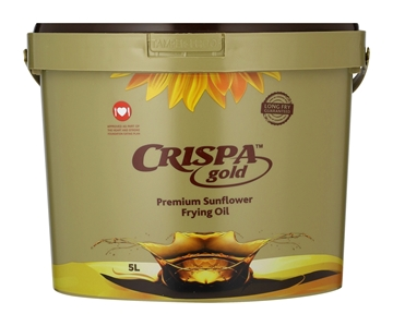 Picture of Crispa Sunflower Cooking Oil 5L