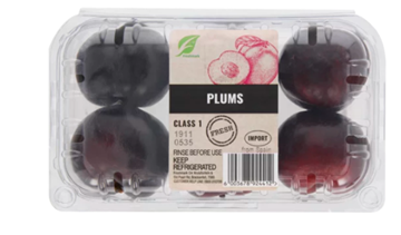 Picture of Plums Red 1kg pack