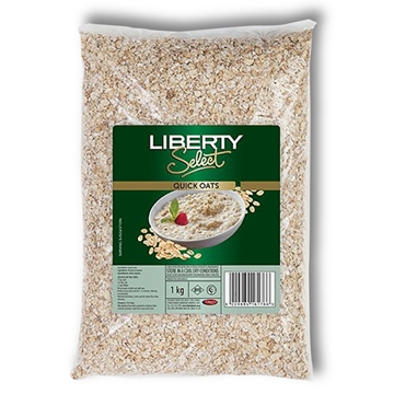 Picture of Liberty Plain Quick Cooker Oats Porridge Pack 1kg