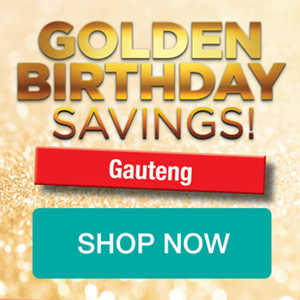 Picture for category GAUTENG GOLDEN BIRTHDAY PROMOTION