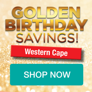 Picture for category WESTERN CAPE GOLDEN BIRTHDAY PROMOTION