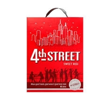 Picture of 4TH Street Natural Red 5L