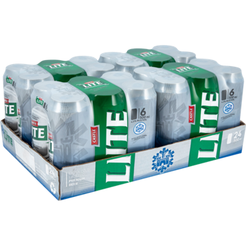 Picture of Castle Lite Beer Can 24 x 500ml