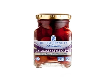 Picture of Mediterranean Calamata Style Olives 250G Jar