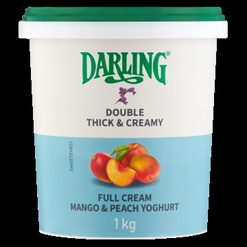 Picture of Darling Full Cream Mango / Peach Yoghurt 1kg