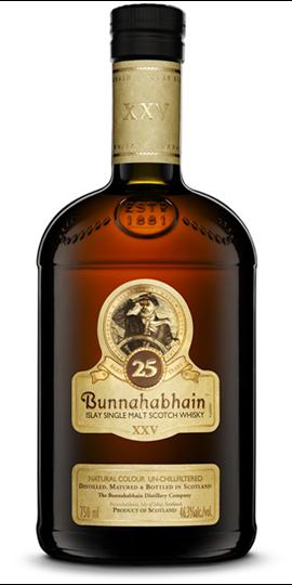 Picture of Bunnahabhain 25 Year Old Islay Single Malt 750ml