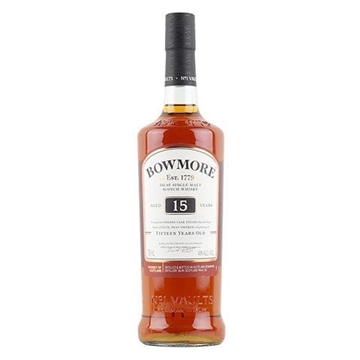 Picture of Bowmore 15-year-old Islay Single Malt Whisky 750ml
