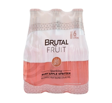 Picture of Brutal Fruit Ruby Apple 6 x 275ml Bottle