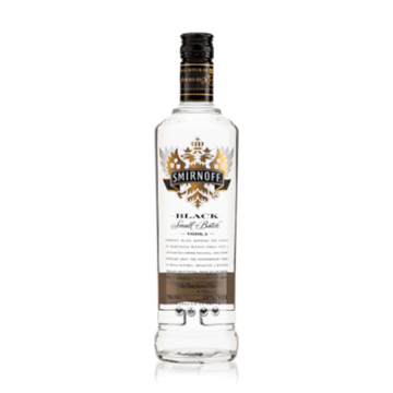 Picture of Smirnoff Premium Vodka Black 750ml Bottle