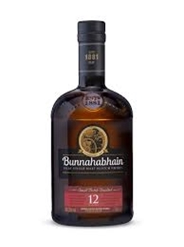 Picture of Bunnahabhain Islay 12YR Whisky Single Malt 750ml
