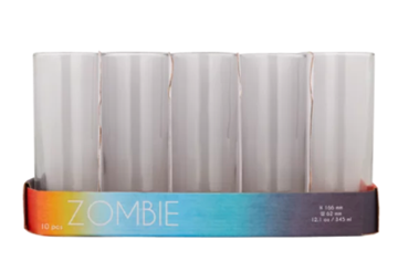 Picture of Shrink Zombie Glass 60X360ML