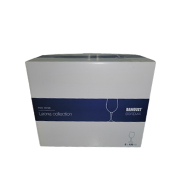 Picture of Bohemia Leona Red Wine Glass Pack 6 x 430ml