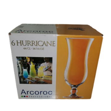 Picture of ARC Hurricane Cocktail Glass Pack 6 x 440ml