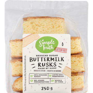 Picture of Simple Truth Gluten Free Buttermilk Rusks 250g