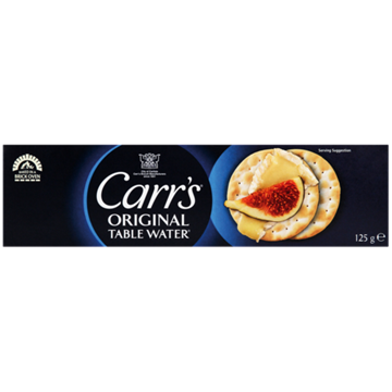 Picture of Carrs Plain Table Water Biscuits 125g