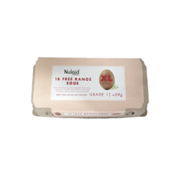 Picture of Nulaid Free Range XLarge Eggs 18's Pack