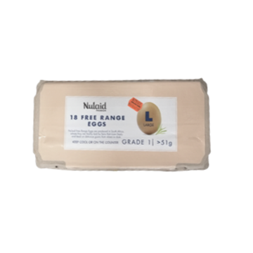 Picture of Nulaid Large Free Range Eggs 18 Pack