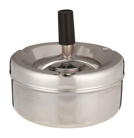 Picture of Bar & Home Stainless Steel  Ashtray Press Each