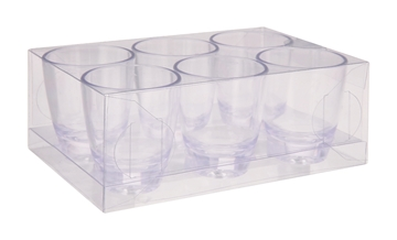 Picture of Shot Glass Set S.I.T. Clear 6 Piece