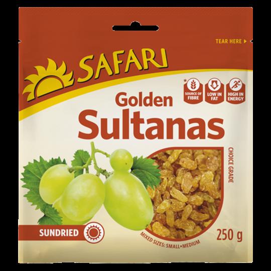 Picture of Safari Golden Dried Sultana 250g