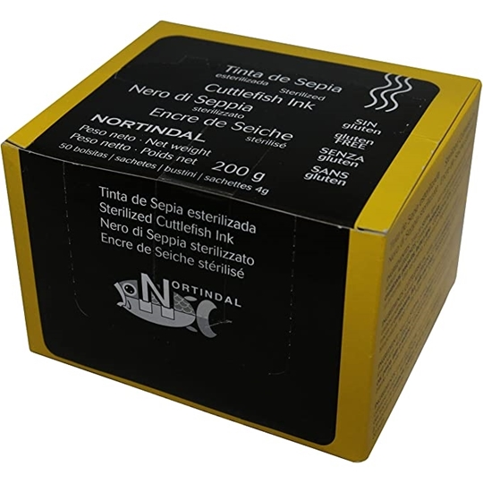 Picture of Nortindal Squid Ink Pack 50 x 4g