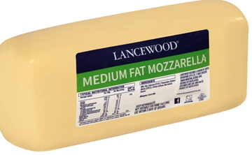 Picture of Lancewood Mozzarella Cheese Loaf 2.5kg - LOAF-2.5K