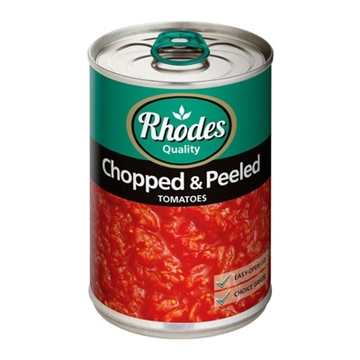 Picture of Rhodes Chopped Peeled Tomato 410g