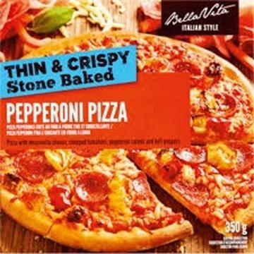 Picture of Bella Vita Pepperoni Pizza 350g