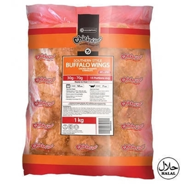 Picture of Chickentizers Frozen  Spicy Buffalo Chic Wings 1kg