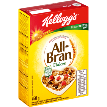 Picture of Kellogg's All-Bran Flakes Cereal 750g