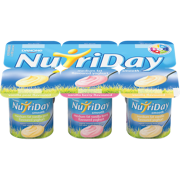 Picture of Nutriday Smooth Vanilla Yoghurt Pack 6 x 100g