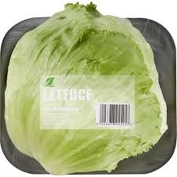 Picture of Crisp Lettuce Head Wrapped Each