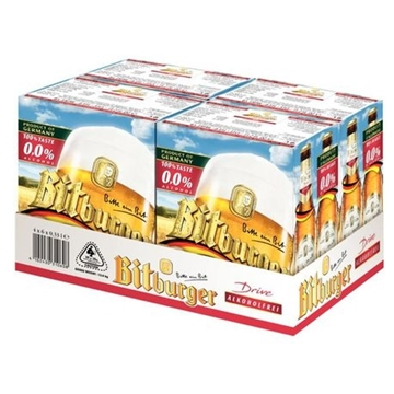 Picture of Bitburger Non-Alcoholic Beer 24 x 330ml