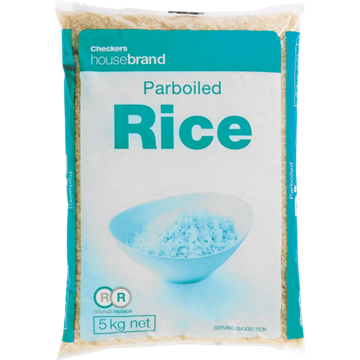 Picture of Housebrand Parboiled Rice 5kg